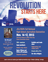 JEA/NSPA National High School Journalism Convention Fall 2013 Registration Booklet - Boston (PDF)
