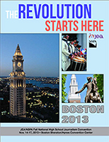 JEA/NSPA National High School Journalism Convention Fall 2013 Program – Boston (PDF)